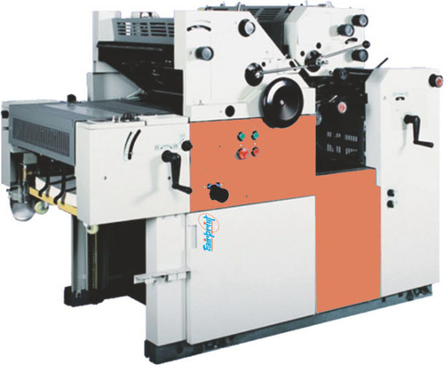 Double Color Satellite Carry Bag Printing Machine