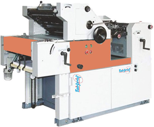 Single Color Non Woven Offset Printing Machine
