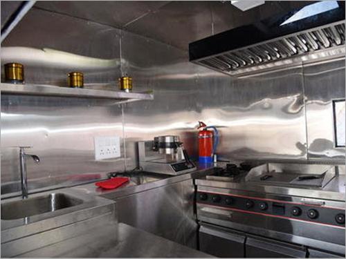 Modern Van Kitchen