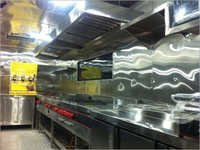 Steel Food Van Kitchen
