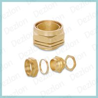 Brass BW 3 Parts Cable Glands