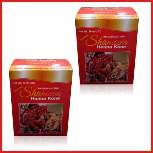 herbal henna cone
