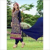 Velvet Designer Salwar Suit