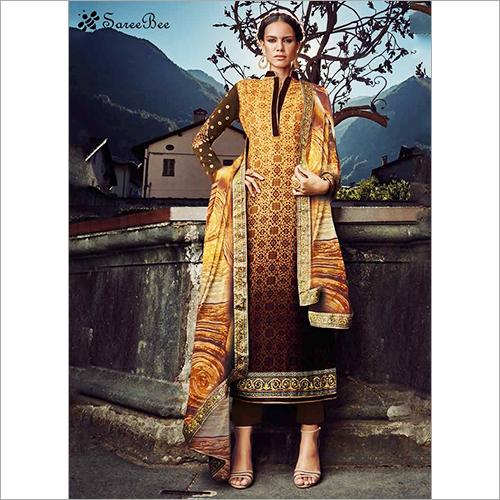 Designer Straight Salwar Kameez