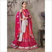 Raw Silk Designer Lehenga Choli
