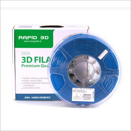 3D printer filament ABS Plus Blue 1.75 mm 1 KG