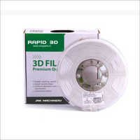3D Printer Filament Abs Plus White 1.75 Mm 1 Kg