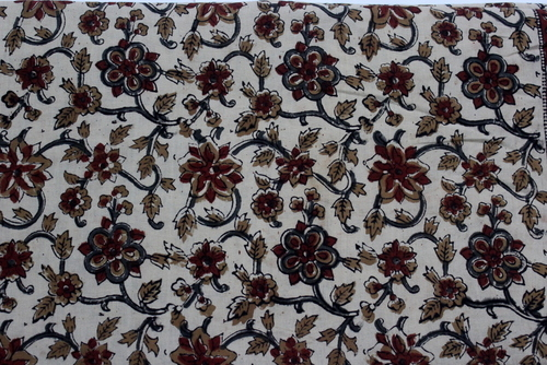 Handmade Block Printed Cotton Fabric