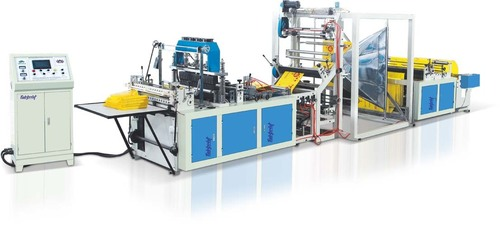D Cut Non Woven Bag Making Machine