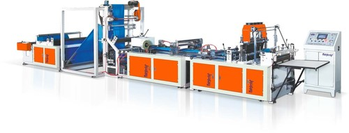 Fully Automatic Box Type Bag Making Machine