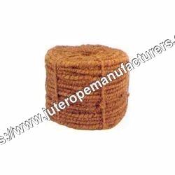 Light Brown Coir Curled Fibre