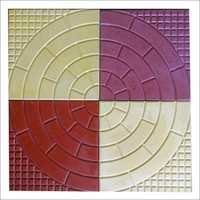 Circle Chequered Tiles