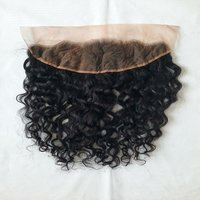 Natural Straight Frontal Hd transparent swiss lace