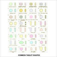 Common Tablet Shape Dies