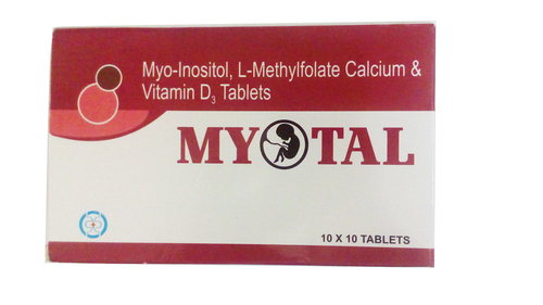 Myo-Inositol,L-Methylfolate Calcium & Vitamin D Tablets