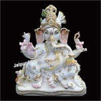 Marble God Ganesh Moorti