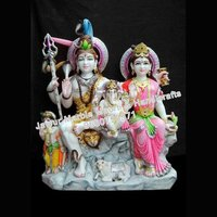 Marble Moorti Shiv Parvati