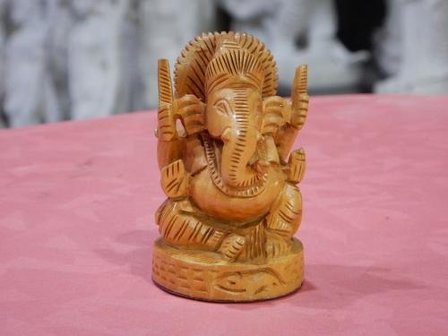 Wooden Ganesh