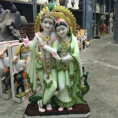 Marble Krishna Radhe Statue Idols