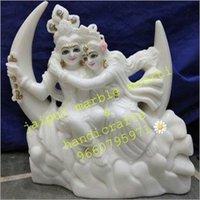Marble Krishna Radhe Statue