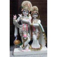 Marble Radha Rani Statue