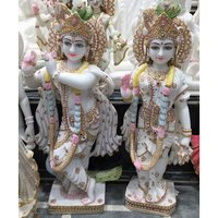Marble Radhe Krishan Statue