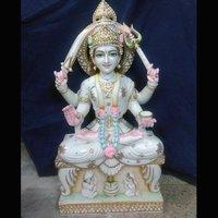 Marble Saraswati Ma Statue