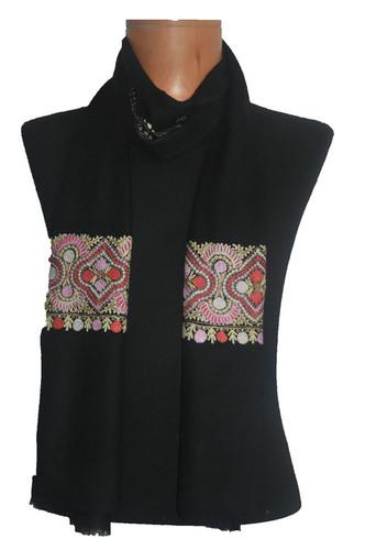 Cashmere Embroidery Palla Scarf