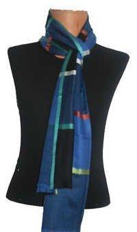Cashmere Silk Box Designs Scarf
