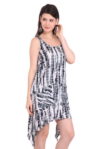 Rayon Tie-Dye Beachwear Dresses