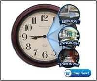 Spy Wall Clock With Remote Control