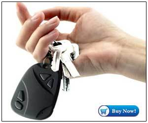 Spy Hidden Key Chain Camera