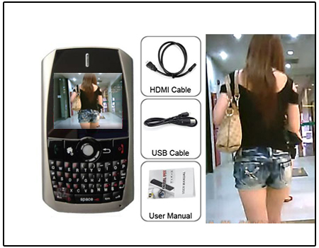 Mobile Phone With Spy Camera (HD)
