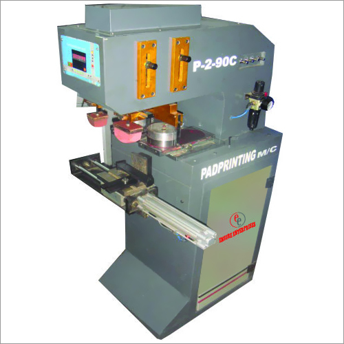 Double Color Pneumatic Pad Printing Machine