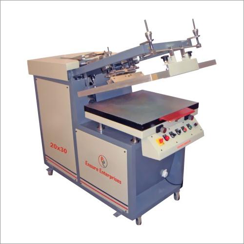 Semi Auto Flat Screen Printing Machine