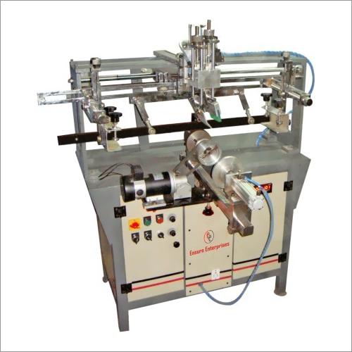 Semi Auto Round Screen Printing Machine Deluxe