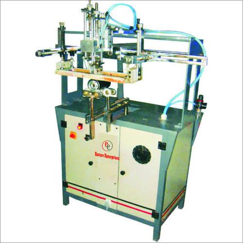 Semi Auto Round Screen Printing Machine Semi Deluxe