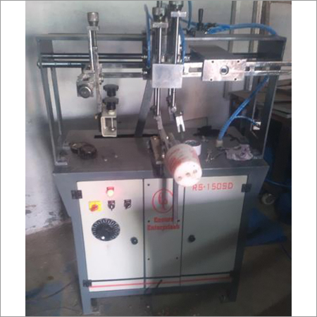 Round Screen Printing Machine For Capacitor