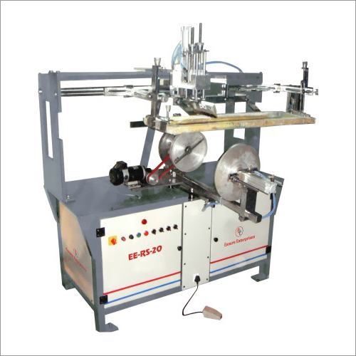 Semi Auto Round Screen Printing Machines For Buckets