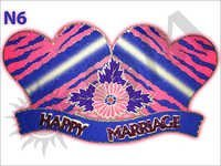 Thermocol Marriage Decoration Heart