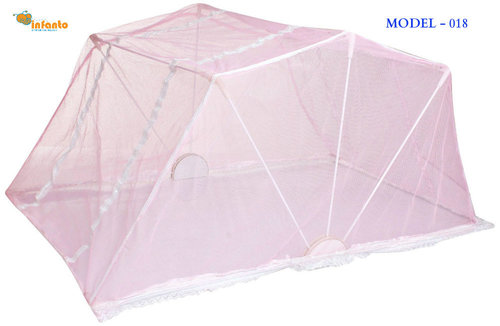 Baby Pink Colour Mosquito Net For Baby