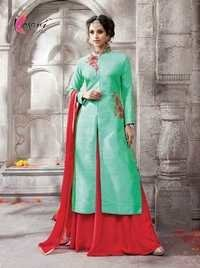 Silk Churidar Suit