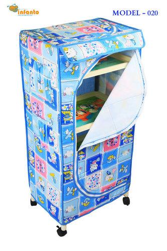 4 Shelves Children Toy Box