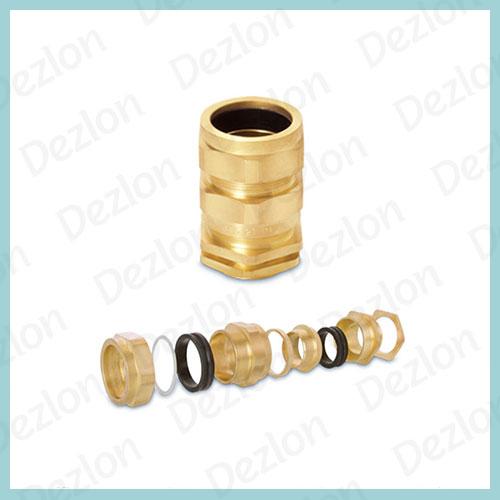 Brass E1W Cable Gland