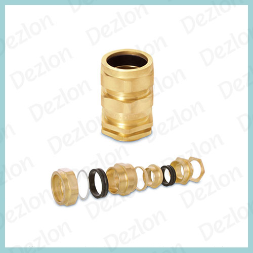 Brass E1W Cable Gland