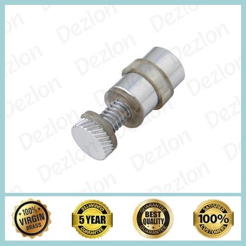 Brass Single Barrel Button
