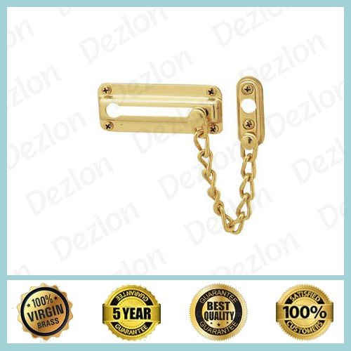 Brass Rround Door Chain