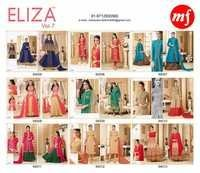 MF (ELIZA VOL-7) Straight Salwar Kameez Wholesale