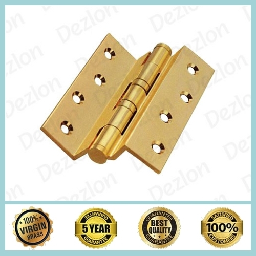 Brass Ball Bearing Cranked Hinges