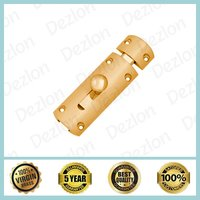 Brass Half Round Baby Latch